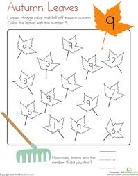 This coloring sheet has one elephant and number one written at the top. Number 9 Coloring Page Worksheet Education Com