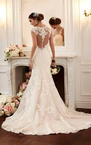 Best 25 Lace Back Wedding Dress Ideas On Pinterest Backless