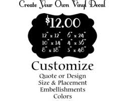 Small Picture Customize Wall Decal Custom Wall Decals Create your own