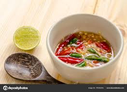 Thai spicy seafood dipping sauce ...