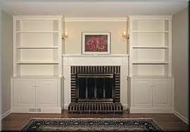 bookcases around fireplace built in bookcases around a shallow fireplace home decorating fireplace bookshelf designs bookcases around fireplace