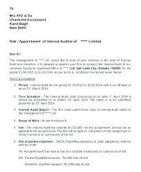 Internal Audit Report Templates Word Sample Findings Letter