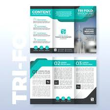 Free Fold Brochure Template Download Tri Flyer Psd 2