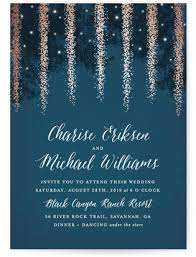 starry night wedding invitations minted Wedding Invitation Affiliate Program strands of lights foil pressed wedding invitations by hooray creative Printable Wedding Programs Yourself