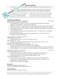 Example Of Resume With Job Description Basic Resume Examples ...