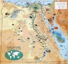 maps update  egypt tourist attractions map – karnakmaps
