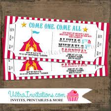 Carnival Birthday Invitations Carnival Birthday Invitations Mansonville Org
