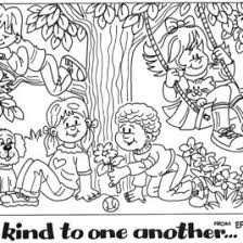 Small Picture Bible Coloring Pages Love One Another Archives Mente Beta Most