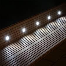 10 Led Bodeneinbaustrahler Set F R Garten Terrasse Stufen Treppen Beleuchtung Terrasse Garten Einbauleuchten Stufen Reppen