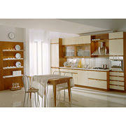 customized kitchen cabinets. China Kitchen Cabinets, PVC MDF Inside With CIC Car Paint, Customized Cabinets R