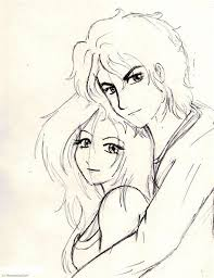 Pencil Sketches Of Couples Anime Couples Drawings In Pencil Cypress