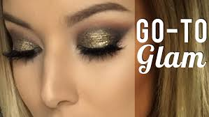go to glam tutorial ft makeup geek relux