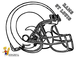 st louis rams football helmet coloring picture at yescoloring yescoloring football helmet coloring page html