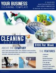 commercial cleaning flyer templates customizable design templates for cleaning service flyer