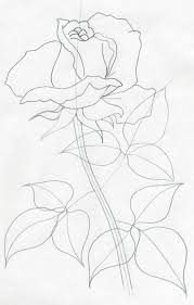 Easy To Draw Roses Draw A Rose Quickly Simply And Easily