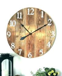 enjoy giant wall clocks