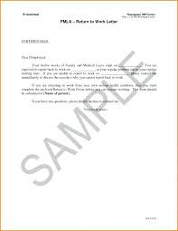 Return Work Letter Template Return To Work With Restrictions Letter