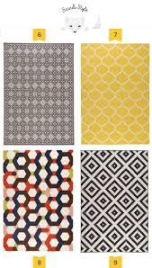 geometric scandinavian rugs