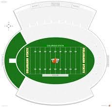 University Of Wyoming Football Stadium Seating Chart Hughes Stadium Seating Guide Rateyourseats Com