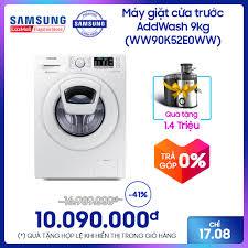 Máy giặt cửa trước Samsung AddWash 9kg - WW90K52E0WW giá rẻ 10.090.000₫