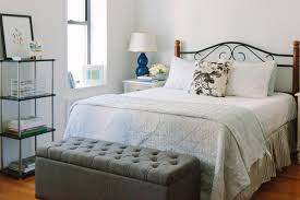 jackie clair makes over a small new york city studio apartment bedroom using eileen