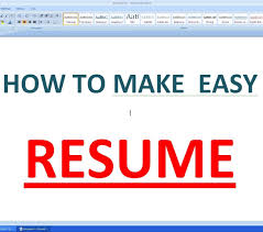 Template Make Resume Format Stunning How To Create In Pdf Template