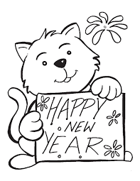 Small Picture New Years Eve Printable Coloring Pages Free Images Archives