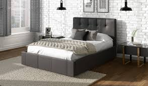 Dorado Faux Leather Bed Frame | Bensons for Beds