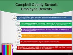 Employee Benefits Campbell County Public Schools