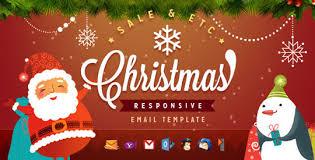 Christmas Email Templates Designbeep