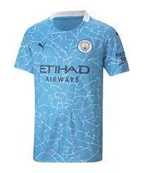 Manchester City Trikot Home 2020/2021 Kids Blau F01 | Fan-Shop