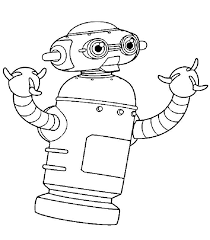 Small Picture Astro robot coloring pages Hellokidscom