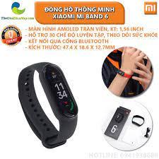 Đồng Hồ Thông Minh Xiaomi MiBand 6 - Bảo Hành 1 Tháng - Shop Thế Giới Điện  Máy Thế giới điện máy - đại lý xiaomi chính hãng tại Việt Nam