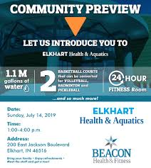 you re invited to the elkhart health aquatics munity open house on july 14th 1 00 4 00
