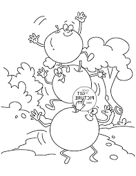 Kindness Coloring Pages Printable Worksheet Fruit Of The Spirit