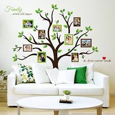 Aliexpresscom  Buy 4 Panels No FrameGreen Tree Painting Canvas Wall Picture Frames For Living Room