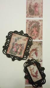 embellishments verzierungen new 2 mix media plastic filigree decorative frames frames
