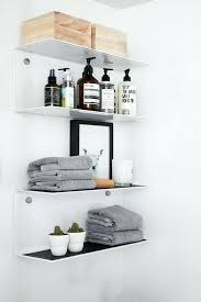 Small glass bathroom shelf Chrome Cool Bathroom Shelves 50 Unique Bathroom Shelf Decorating Ideas Small Glass Bathroom Shelves Ikea Home And Bathroom Cool Bathroom Shelves Diy Bathroom Shelves To Increase Your Storage