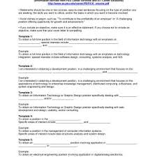 Professional Objective For A Resume Sample Resume Objectives Statements Copy Resume Objective Examples 96