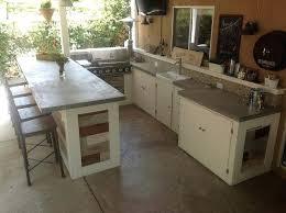 outdoor kitchen concrete countertop great outside space concrete kitchen outdoor kitchen concrete countertop sealer