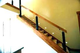 indoor stair railings railing kits home depot handrail inside interior oak wooden pictures and ideas