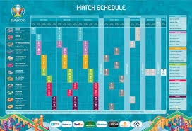 Di three group e matches wey dey initially scheduled for dublin go now take place for st petersburg stadium for russia. Uefa Euro 2020 Fixtures Schedule And Live Stream