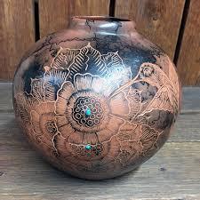 Navajo pottery designs Clip Art Navajo Horsehair Pottery Hummingbird Design Marcy Burns American Indian Arts Navajo Horsehair Pottery Hummingbird Design Frontier Plunder