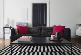 tip of the week black and white striped rugs d cor aid within idea