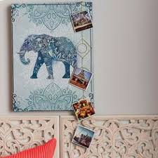 graham and brown elephant canvas wall art
