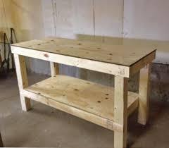 easy diy garage work workbench