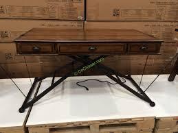 costco 1048892 turnkey sit n stand desk adjule