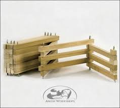 toy wood foldable fence