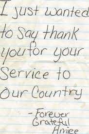 15 Tear Worthy Thank You Notes To Soldiers Written By Complete