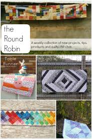 sew it up here twisted ribbon table runner tutorial